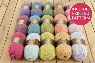 Attic24 - Hydrangea Blanket (Stylecraft Yarn Pack)