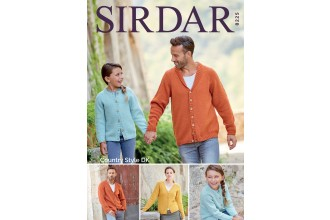 Sirdar 8225 Cardigans in Country Style DK (downloadable PDF)