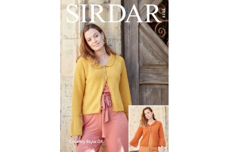 Sirdar 8226 Jackets in Country Style DK (downloadable PDF)