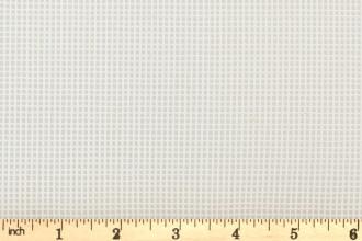 Zweigart 10 Count Interlock Canvas - White (40) - 100cm / 40inch wide