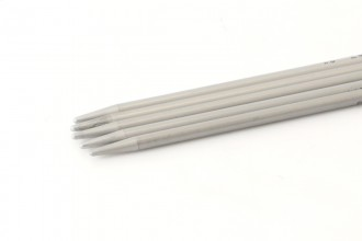 Addi Aluminium Double Point Knitting Needles - 20cm (3.25mm)