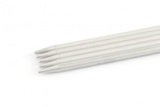 Addi Aluminium Double Point Knitting Needles - 20cm (4.50mm)