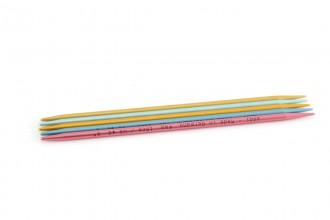 Addi Colibri Aluminium Double Point Knitting Needles - 15cm