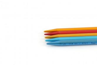 Addi Colibri Aluminium Double Point Knitting Needles - 15cm (8.00mm)