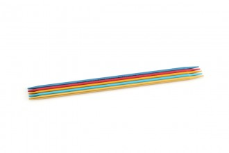 Addi Colibri Aluminium Double Point Knitting Needles - 20cm