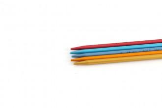 Addi Colibri Aluminium Double Point Knitting Needles - 23cm (5.50mm)