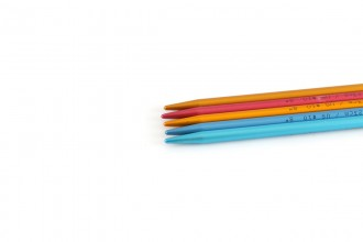 Addi Colibri Aluminium Double Point Knitting Needles - 23cm (6.00mm)