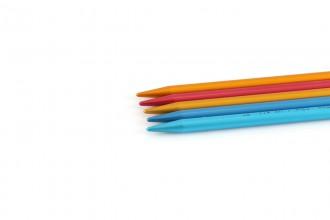 Addi Colibri Aluminium Double Point Knitting Needles - 23cm (8.00mm)