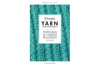 Scheepjes Yarn The After Party 24 - Popcorn & Cables Blanket (booklet)