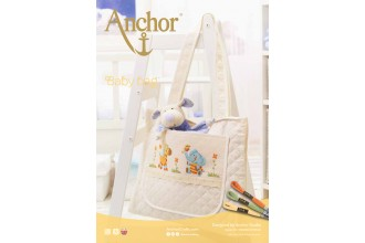 Anchor - Baby Bag with Animals Cross Stitch Chart (Downloadable PDF)