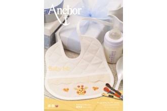 Anchor - Baby Bib Cross Stitch Chart (Downloadable PDF)