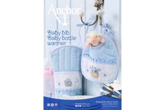 Anchor - Baby Bib and Bottle Warmer Cross Stitch Chart (Downloadable PDF)