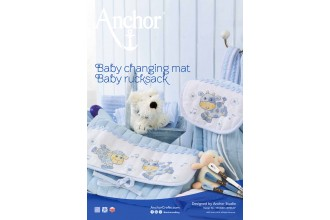 Anchor - Baby Changing Mat and Rucksack Cross Stitch Chart (Downloadable PDF)