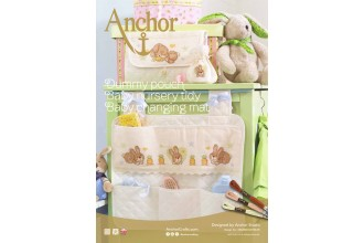 Anchor - Baby Dummy Pouch, Nursery Tidy and Changing Mat Cross Stitch Chart (Downloadable PDF)