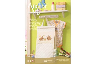 Anchor - Baby Hanging Nappy Stacker Cross Stitch Chart (Downloadable PDF)