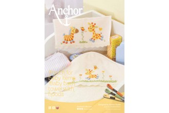 Anchor - Pouch for Baby Items and Bath Towel with Hood Cross Stitch Chart (Downloadable PDF)