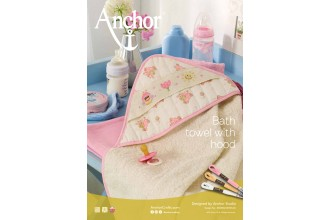 Anchor -  Bath Towel with Hood Cross Stitch Chart (Downloadable PDF)