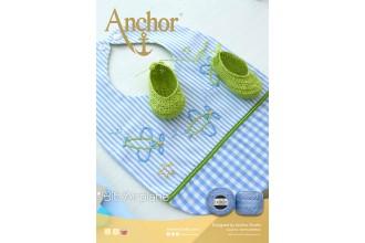 Anchor - Bib Airplane Embroidery Pattern (Downloadable PDF)