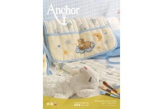 Anchor -  Changing Mat Cross Stitch Chart (Downloadable PDF)