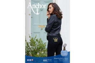 Anchor - Crown Jeans Cross Stitch Chart (Downloadable PDF)