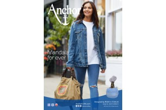 Anchor - Mandala Bag Cross Stitch Chart (Downloadable PDF)