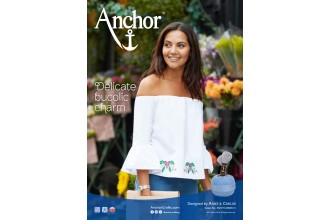 Anchor - Pansy Bardot Cross Stitch Chart (Downloadable PDF)
