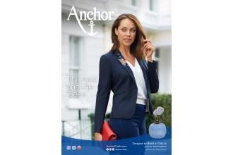 Anchor - Rose Blazer Cross Stitch Chart (Downloadable PDF)