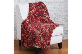 Bernat - Arm Knit 3-Hour Holiday Blanket in Bernat Blanket (downloadable PDF)