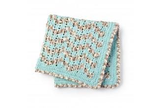 Bernat - Baby Bargello Crochet Blanket in Baby Blanket (downloadable PDF)
