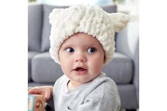 Bernat - Baby Bear Hat in Alize Blanket -EZ (downloadable PDF)