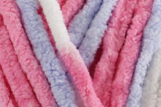 Bernat Baby Blanket - Pink Blue (04305) - 300g