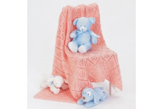 Bernat - Baby Blanket in Satin (downloadable PDF)