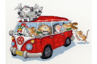 Bothy Threads - Are We There Yet? (Cross Stitch Kit)
