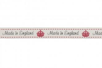 Berties Bows Grosgrain Ribbon - 16mm wide - Made in England - Ivory (3m reel)
