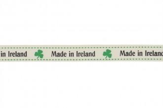 Berties Bows Grosgrain Ribbon - 16mm wide - Made in Ireland - Ivory (3m reel)