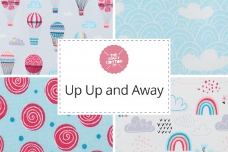 Craft Cotton Co - Up Up and Away Collection