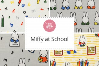 Craft Cotton Co - Miffy at School Collection
