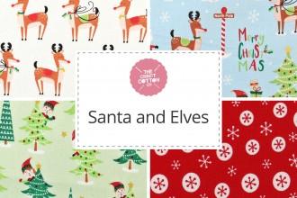 Craft Cotton Co - Santa and Elves Collection