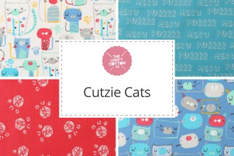 Craft Cotton Co - Cutzie Cats Collection