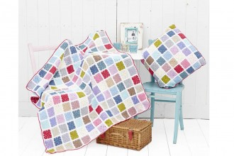 Annie's Place - Candy Pop Cushion and Blanket (Stylecraft Yarn Pack)