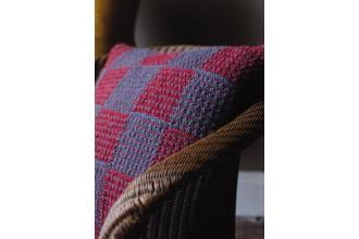 Rowan - Rowan At Home - Check Mate Cushion by Martin Storey in Felted Tweed Aran (downloadable PDF)
