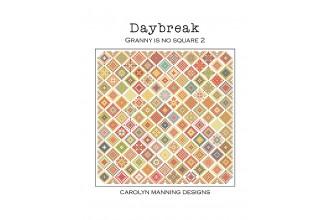 Carolyn Manning - Daybreak - Granny is No Square 2 (Cross Stitch Pattern)