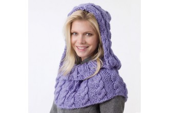 Caron - Shoulder Hoodie in Simply Soft (downloadable PDF)