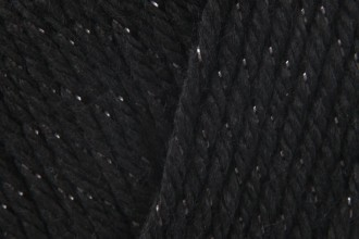 Caron Simply Soft Party - Black Sparkle (0007) - 85g
