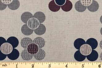 Dashwood - Chalk Hill Linen/Cotton - Flowers (CL1355)