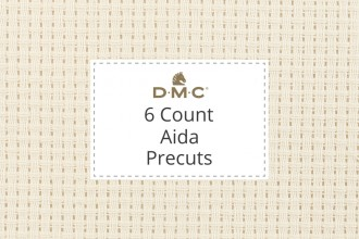 DMC Aida - 6 Count - Precuts