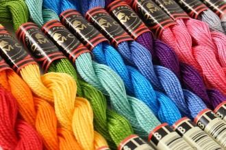 DMC Coton Perle Size 8 - 25m skein