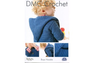 DMC 14890L/2 Crochet Boys Hoodie (Leaflet)