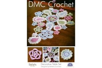 DMC 14895L/2 Crochet Decorative Table Set (Leaflet)