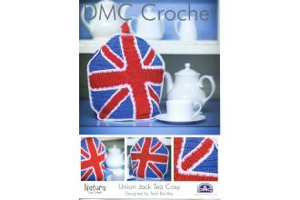 DMC 14896L/2 Crochet Union Jack Tea Cosy (Leaflet)